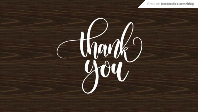4 Ide Slide Presentasi Terima Kasih (Penutup)